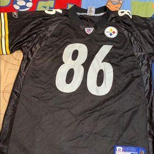 Steelers Jersey #86 Ward